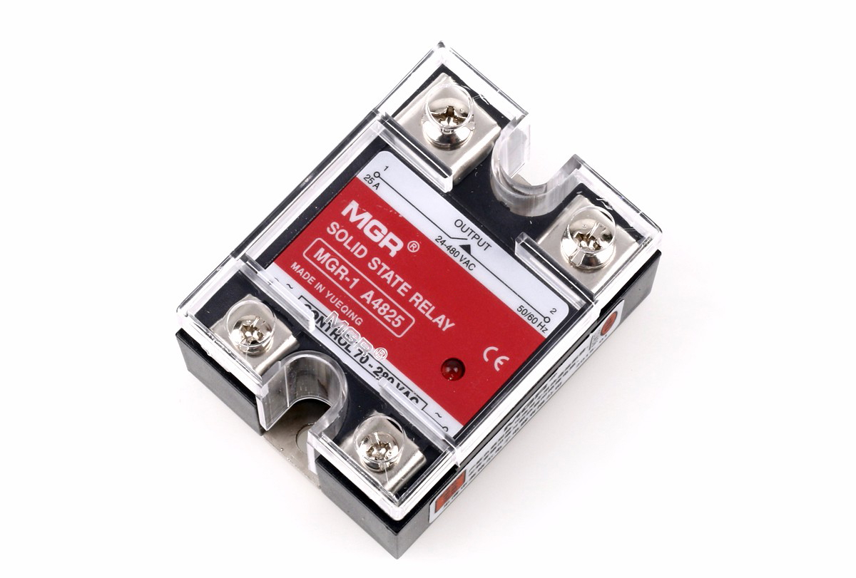 Mager MGR-1A series single phase AC to AC solid state relay, MGR 1A48 25│HUIMULTD