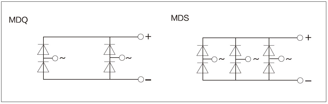 MDQ, MDS Series Diagram