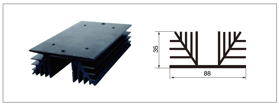 Diagram - heat sink MG-L