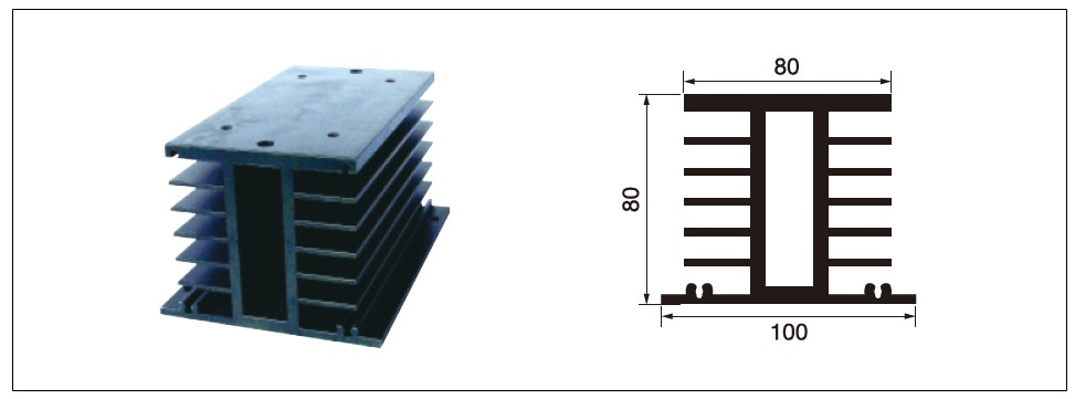 Diagram - heat sink MG-H