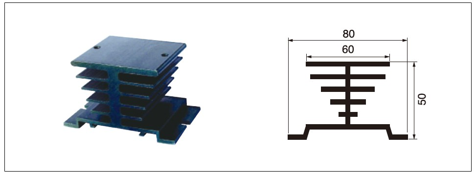 Diagram - heat sink MG-I