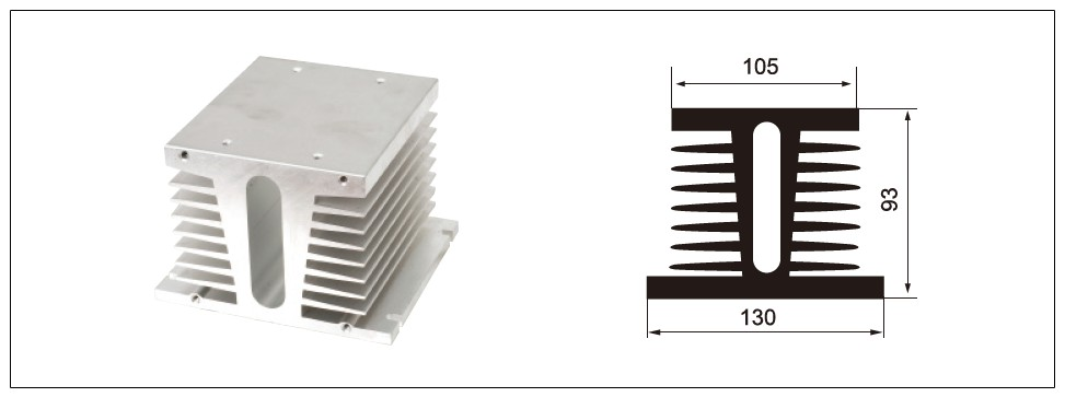 Diagram - heat sink MG-F