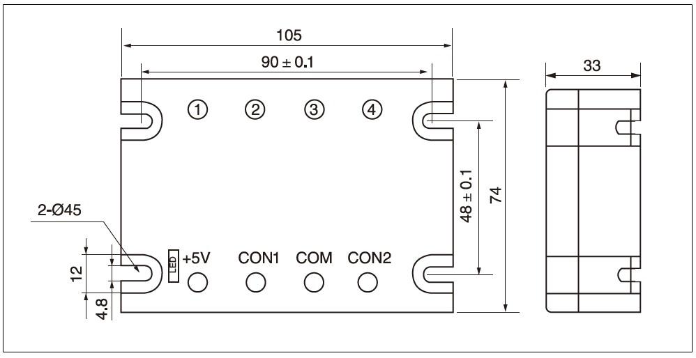 Dimensions - MGR DT 2240 EG