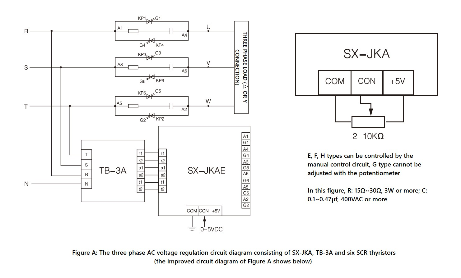 SX-JKA_Series,_Circuit_Wiring_Diagram