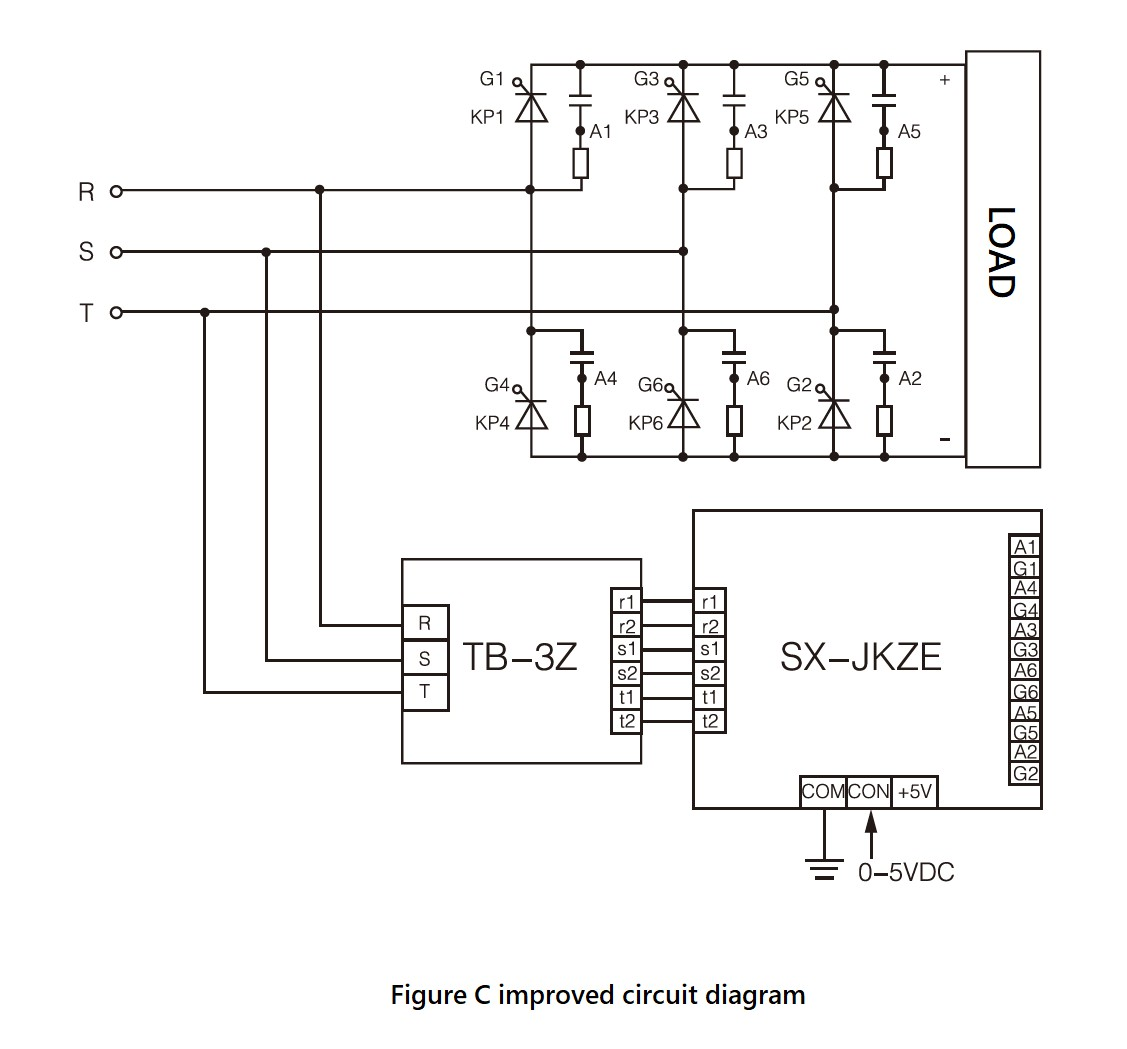 SX-JKZ_Series,_Circuit_Wiring_Diagram,_dv/dt_improved_version