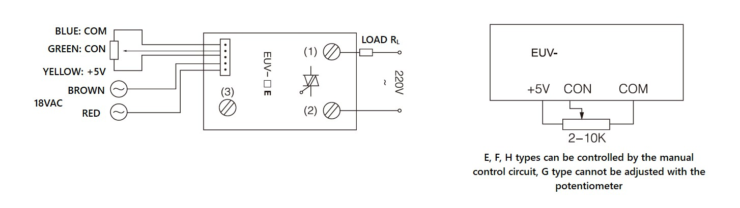 MGR-EUV Series Voltage Power Regulator Diagram