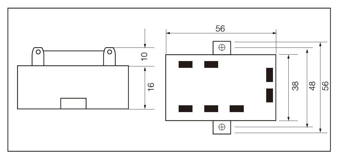 SCR-JKK, TRIAC-JKK Series, Dimensions