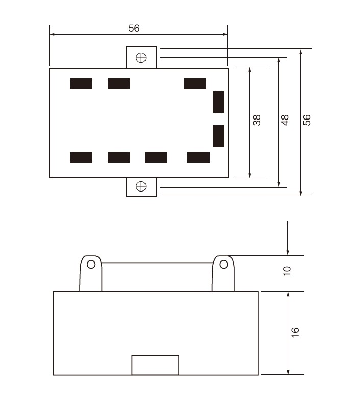 SCR-JKK/2 Series, Dimensions