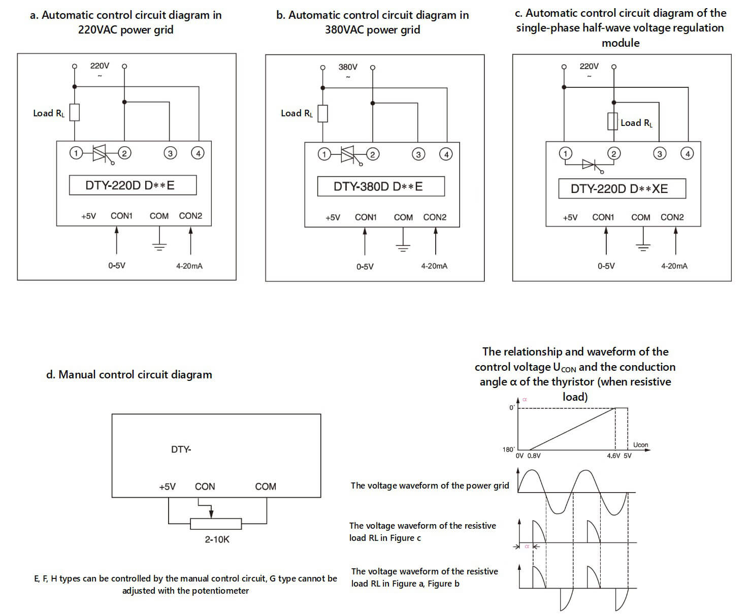 MGR-DT Series Voltage Power Regulator Diagram