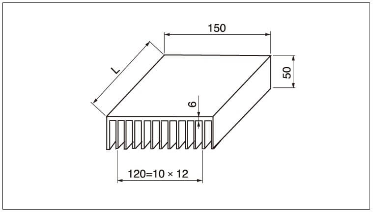 Diagram - Air Cooled Radiator Heat-Sink-Z