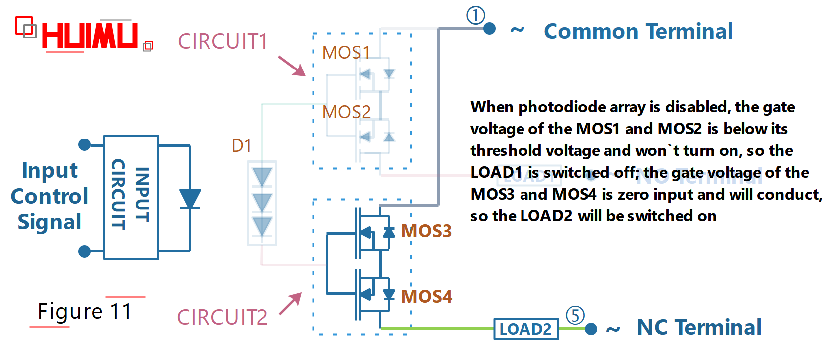 photodiode-array SPDT solid state relay circuit diagram, when the switch is turned off at AC power supply; how does a single pole double throw switch work, how to wire a single pole double throw switch, single pole double throw light switch, spdt rf switch ic, spdt ssr, spdt switch diagram. More detail via www.@huimultd.com