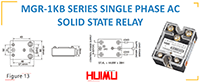 MGR-1KB SERIES SINGLE PHASE AC SOLID STATE RELAY
