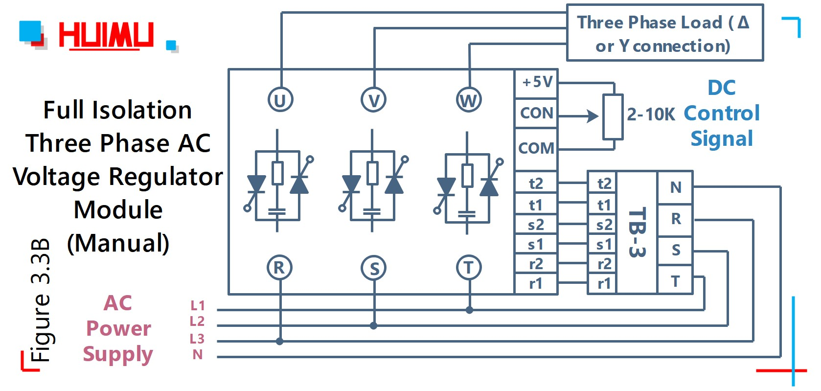 how to wire mgr mager mgr-sty380d40e (manual control signal) full isolation  three