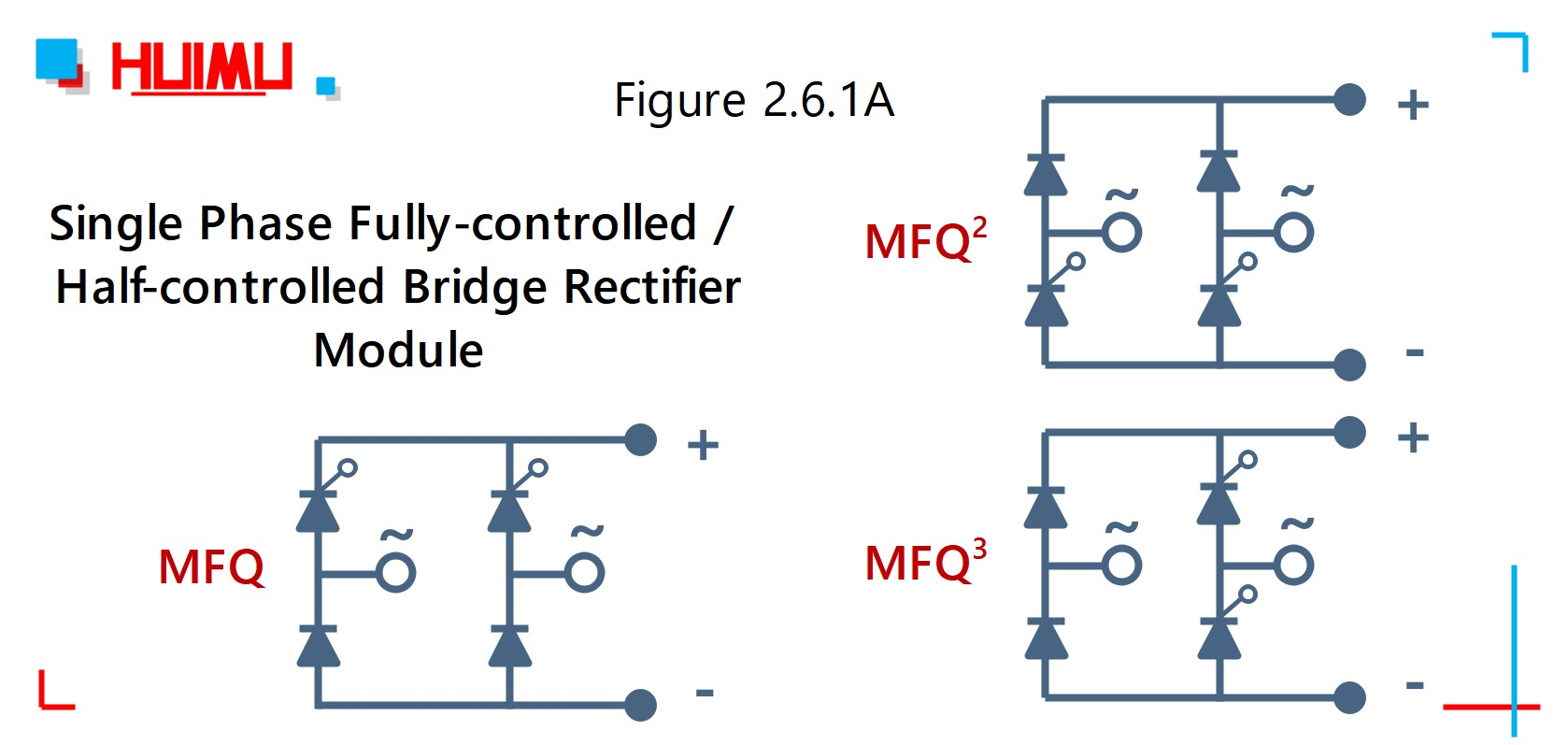 Wiring diagram of MFQ series