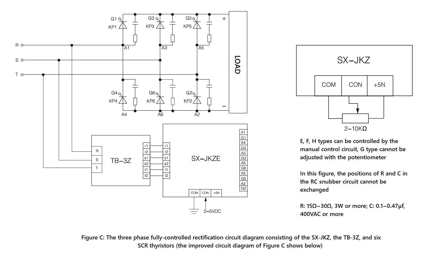 SX-JKZ Series, Circuit Wiring Diagram