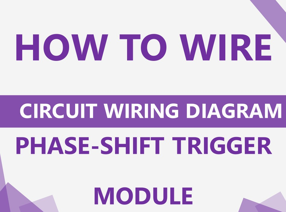 How to wire phase-shift trigger module?