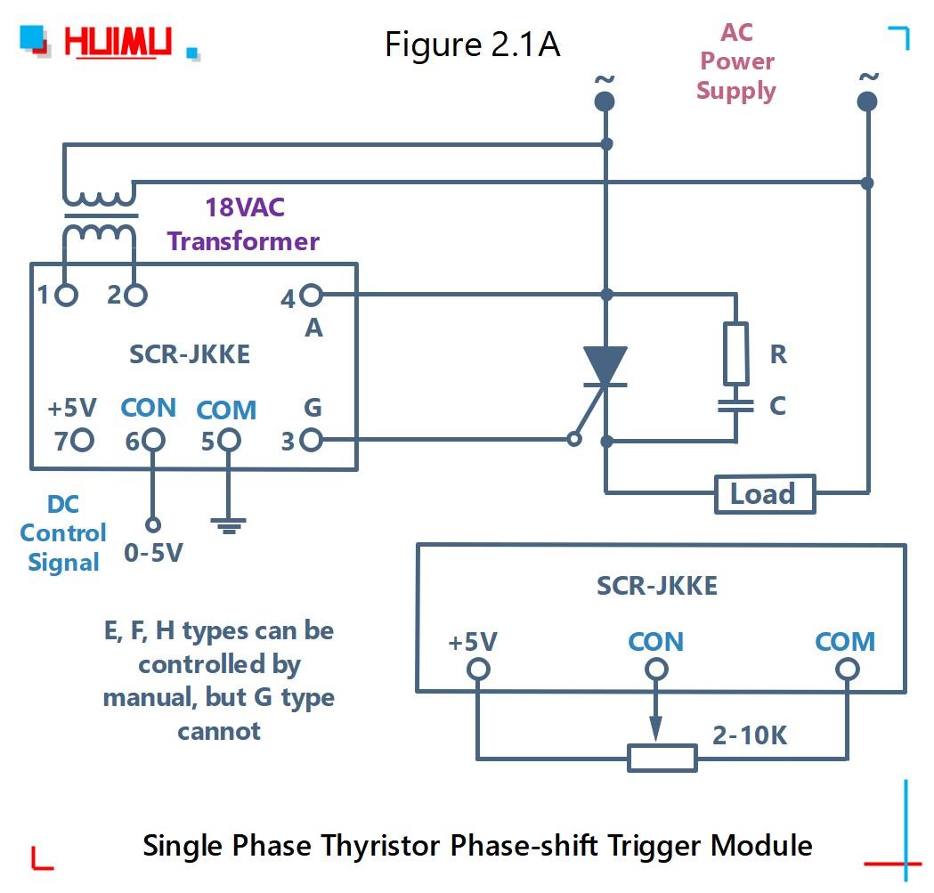 How to wire MGR mager SCR-JKK single phase thyristor phase-shift trigger module? More detail via www.@huimultd.com