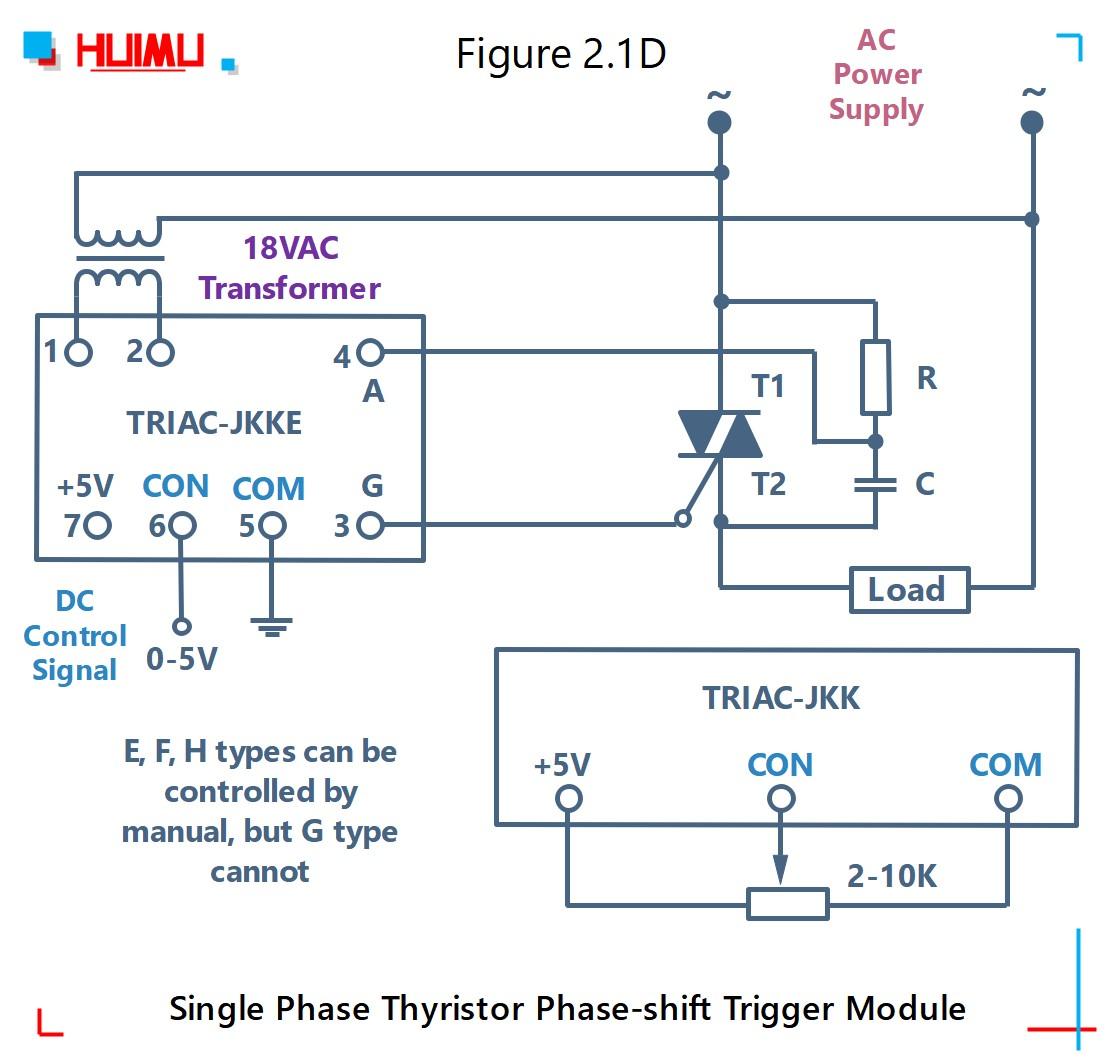 How to wire MGR mager TRAIC-JKK single phase thyristor phase-shift trigger module (static dv/dt improved version)? More detail via www.@huimultd.com