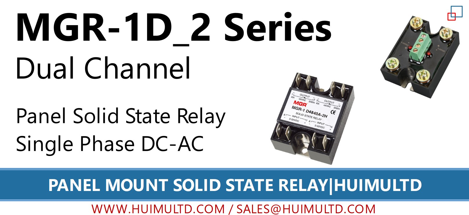 MGR-1D_2 Series Panel Mount Solid State Relay