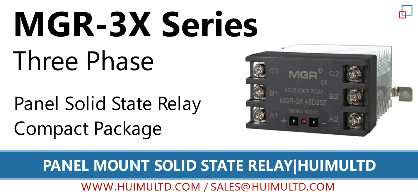 MGR-3X Series Panel Mount Solid State Relay