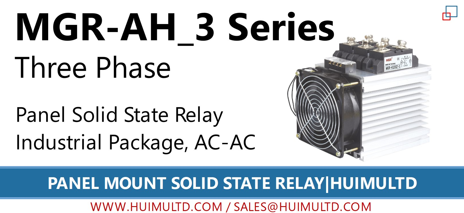MGR-AH_3 Series Panel Mount Solid State Relay