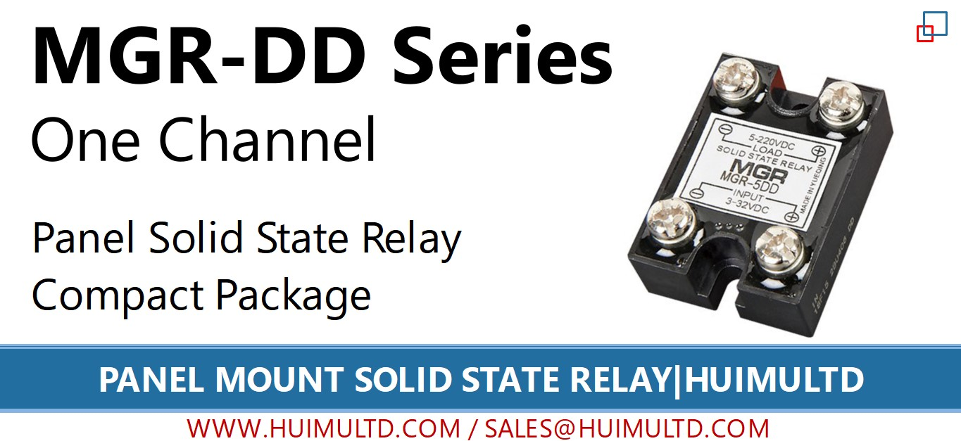 MGR-DD Series Panel Mount Solid State Relay