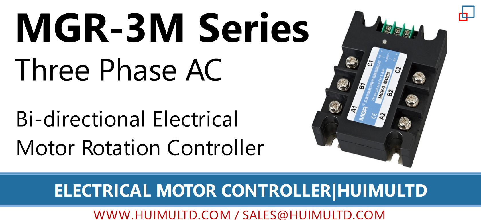 MGR-3M Series Electrical Motor Controller