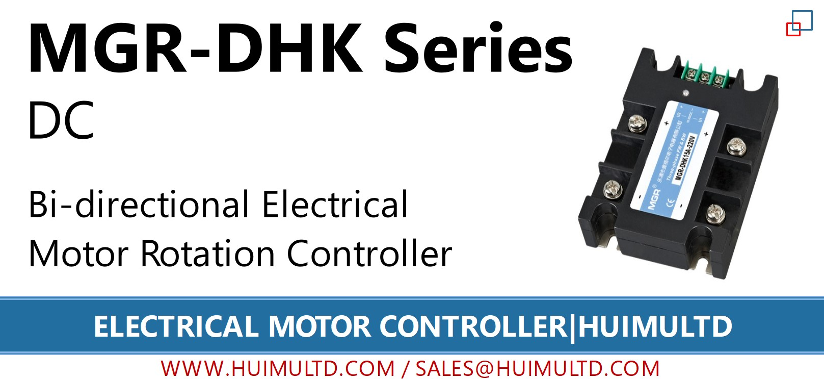 MGR-DHK Series Electrical Motor Controller