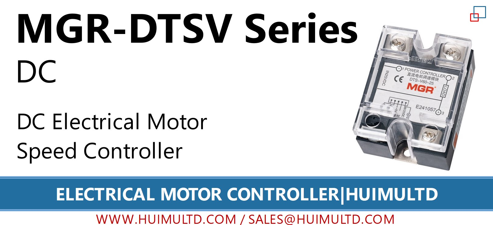 MGR-DTSV Series Electrical Motor Controller