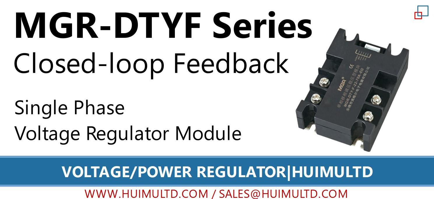 MGR-DTYF Series Voltage Power Regulator