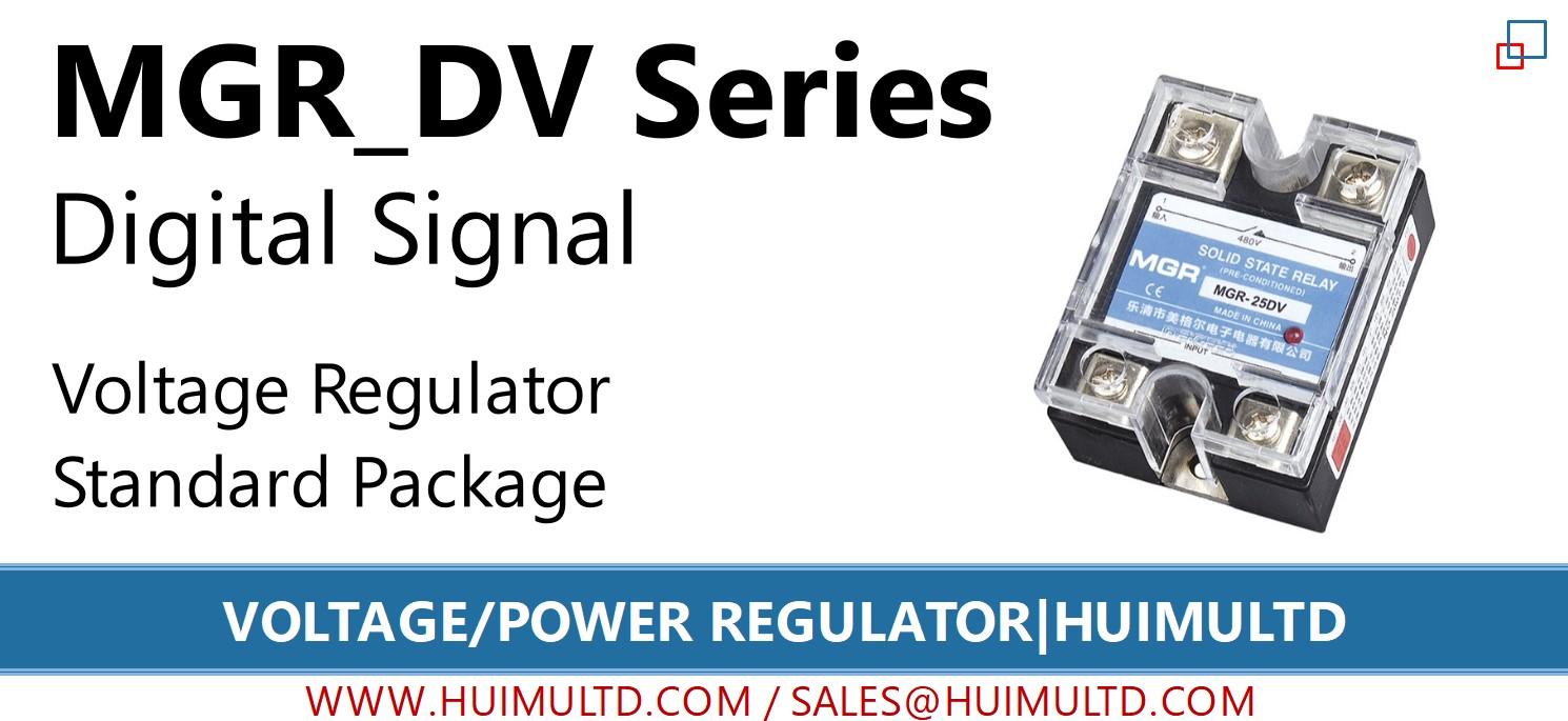 MGR-DV Series Voltage Power Regulator