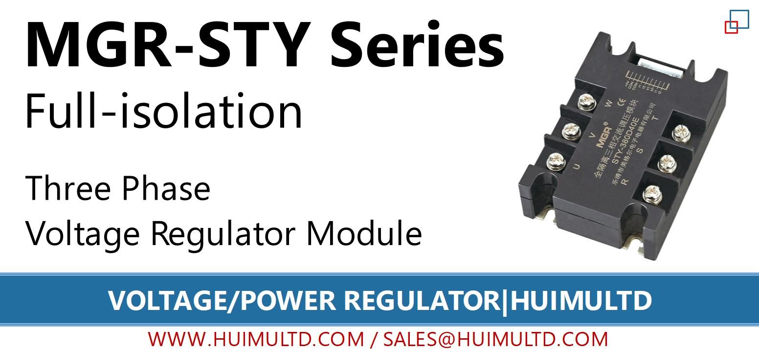 MGR-STY Series Voltage Power Regulator