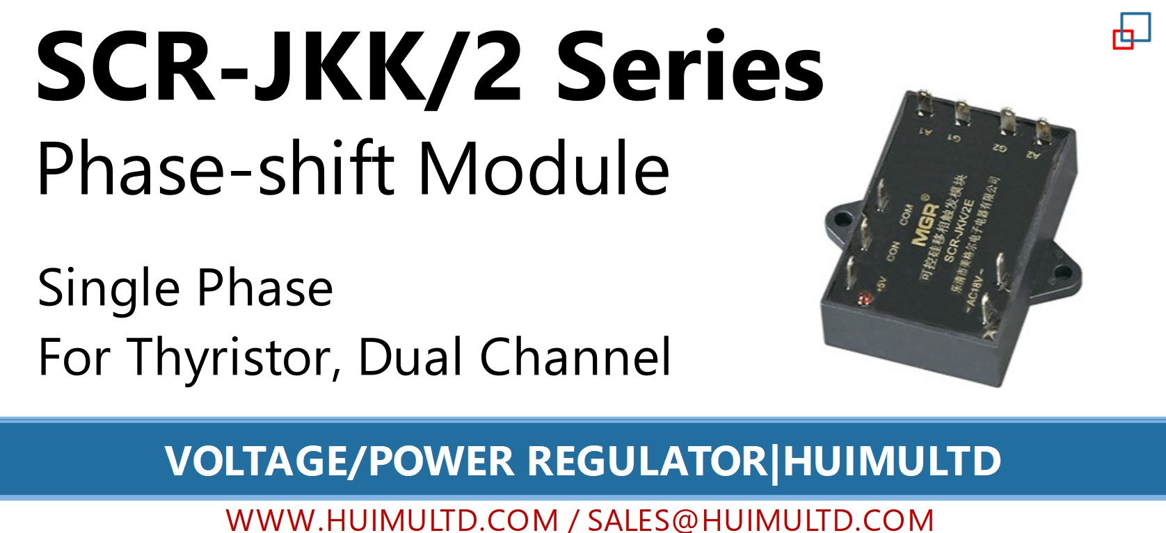 SCR-JKK/2 Series Voltage Power Regulator