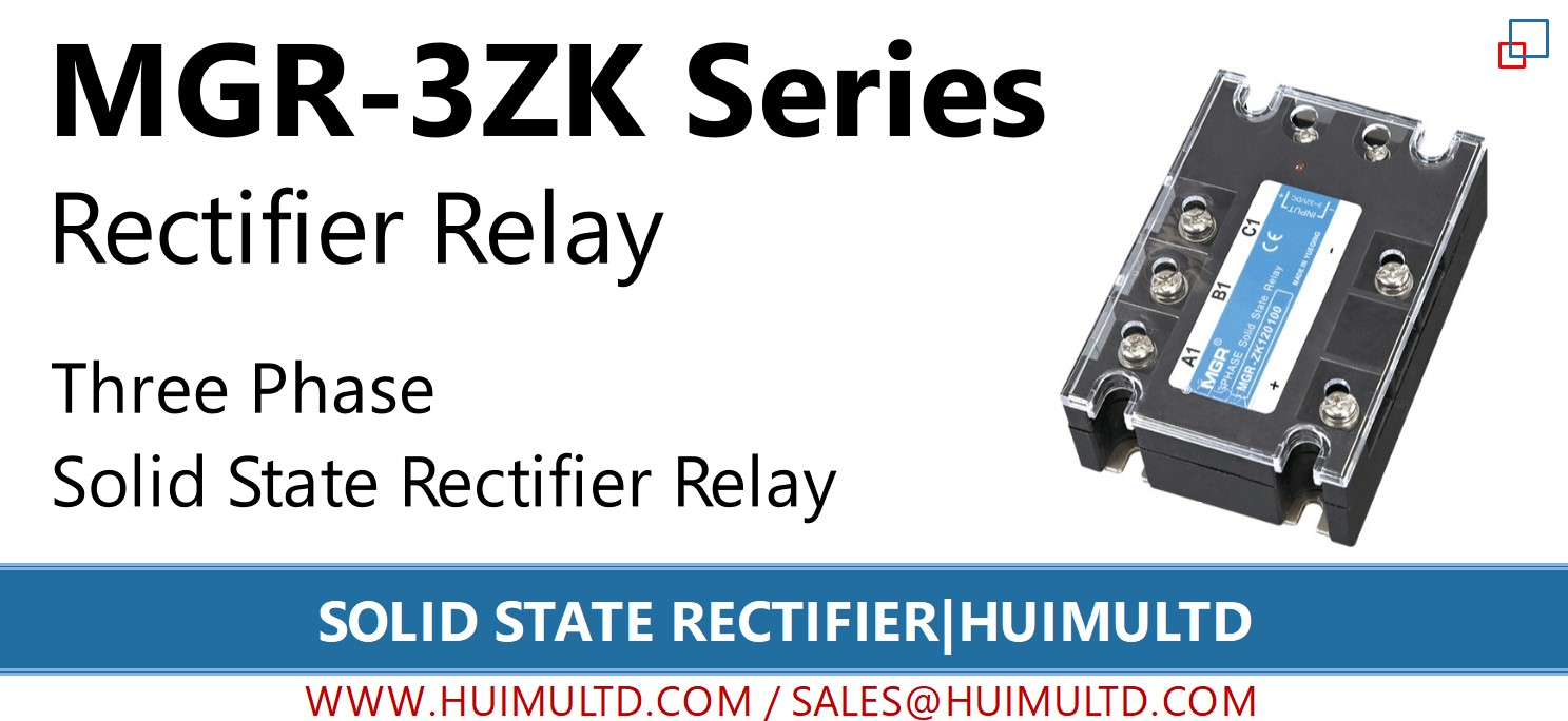 MGR-3ZK Series Solid State Rectifier