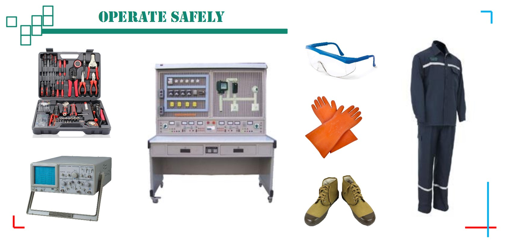 Safety precautions to operate safely. More details via sales@huimultd.com