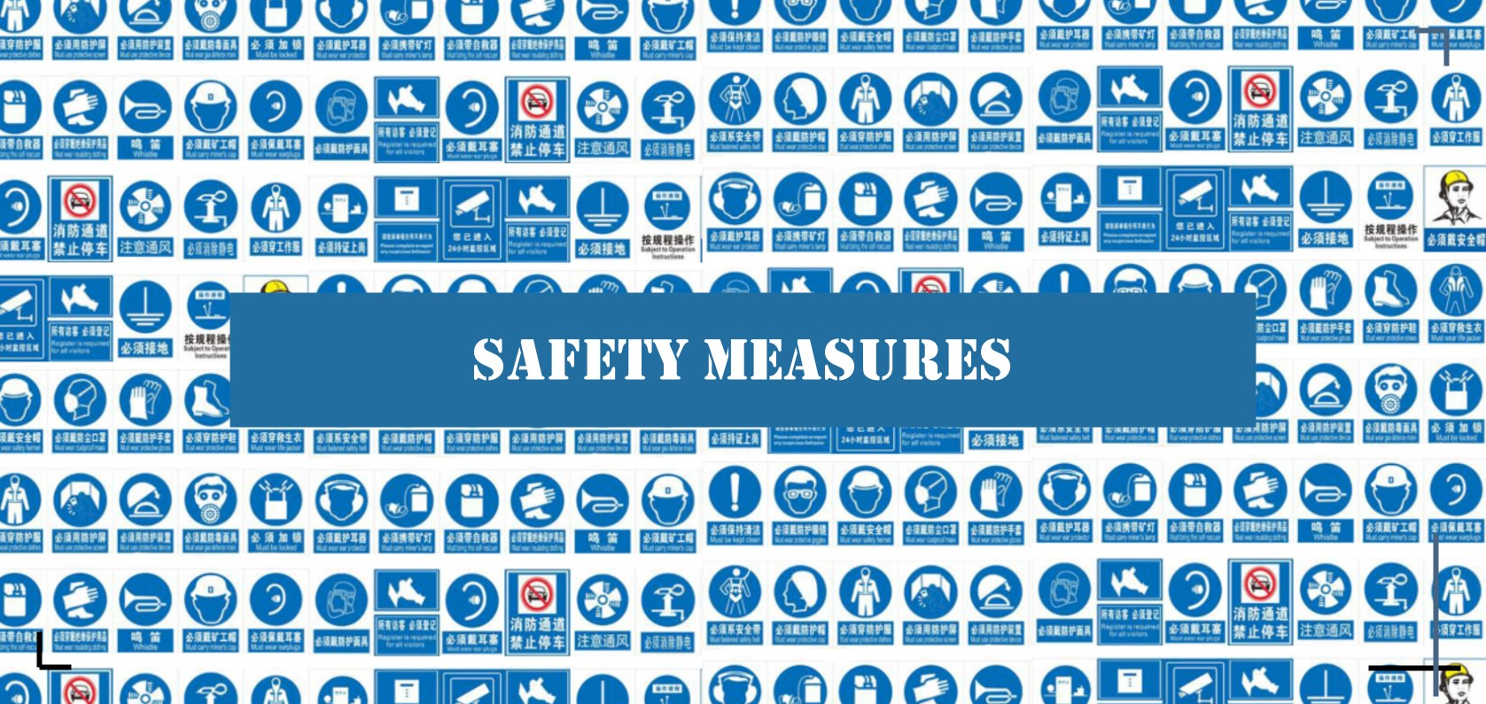 Safety measures to protect human safety. More details via sales@huimultd.com