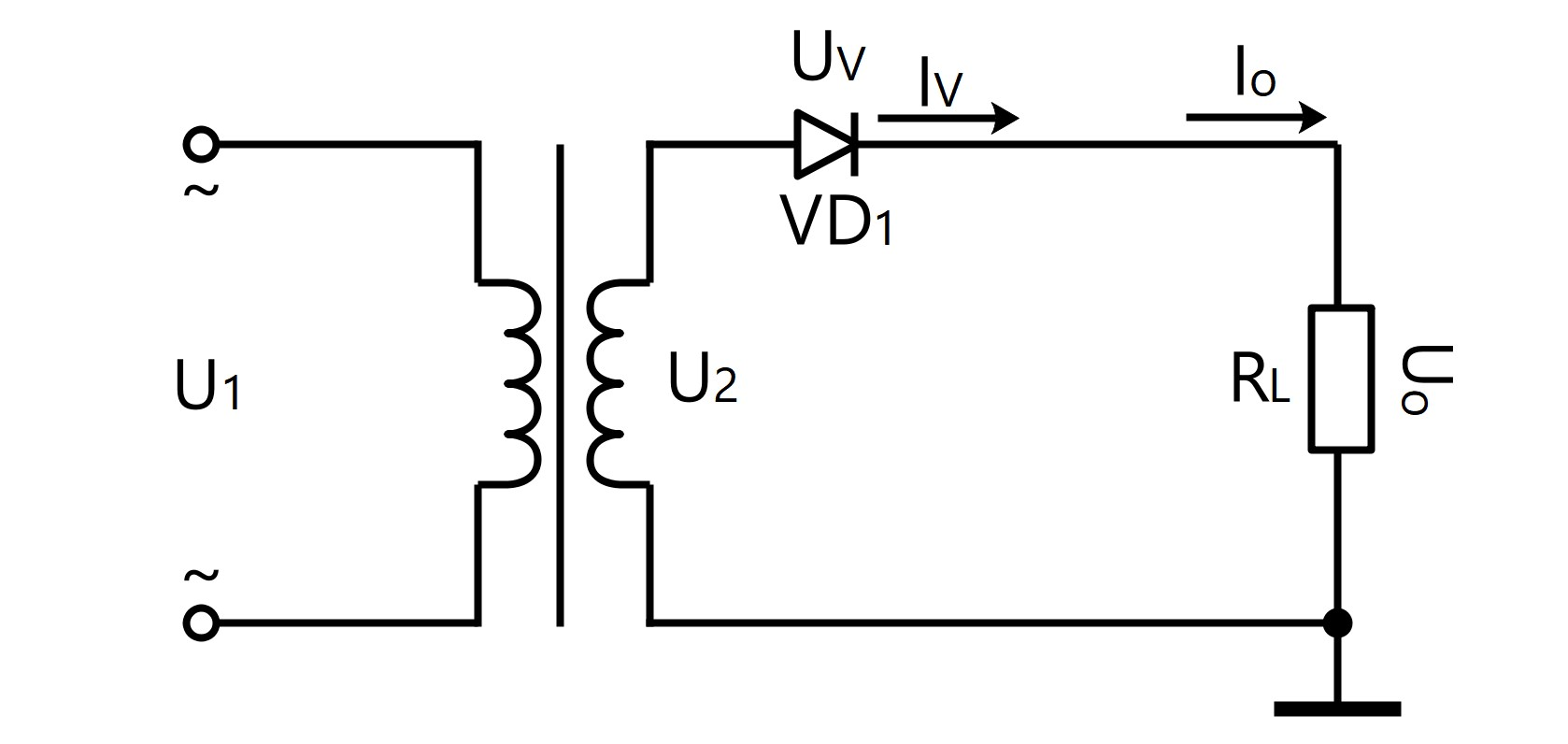 Single-Phase Half-Wave Rectification Filter Circuit. More details via sales@huimultd.com