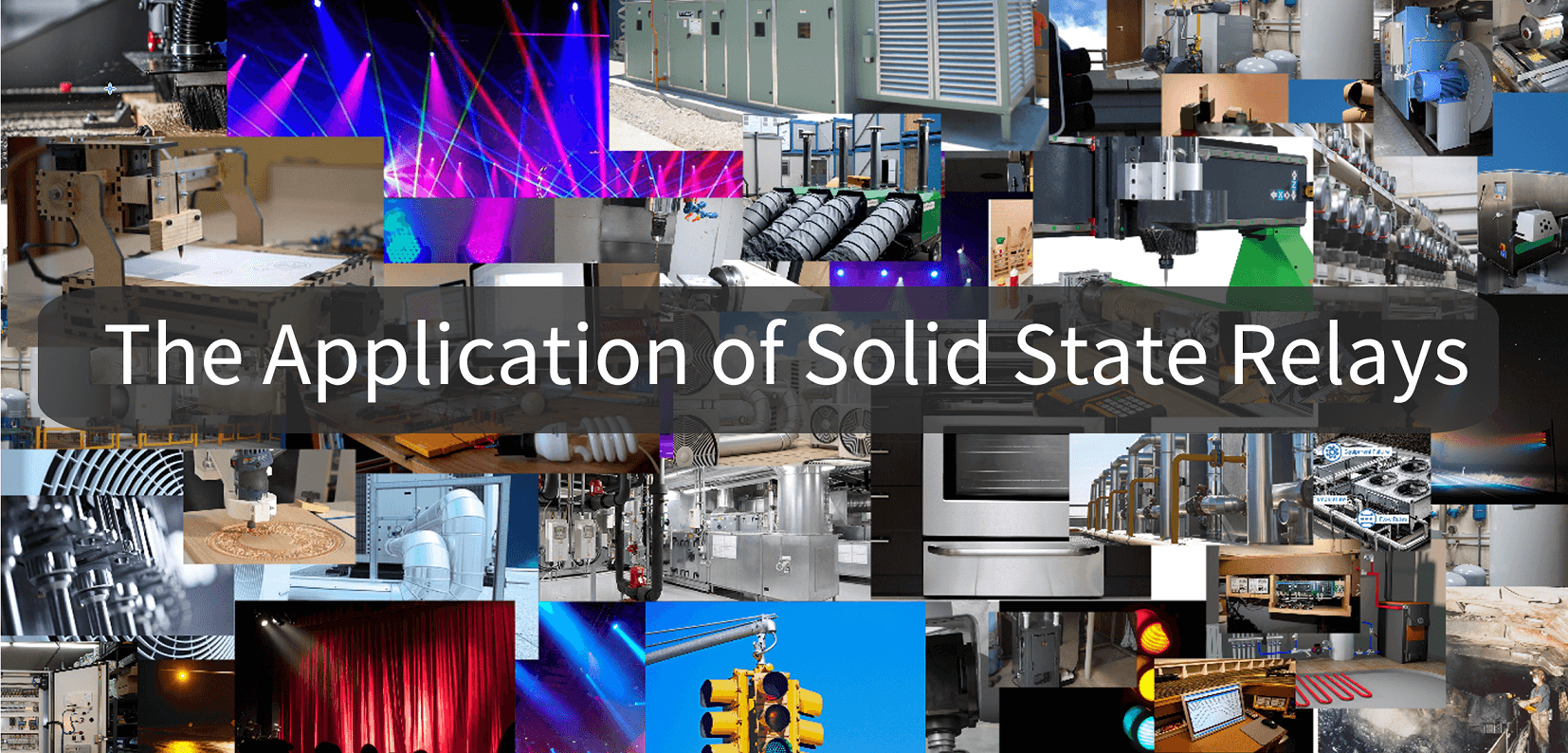 solid state relay (SSR) applications.