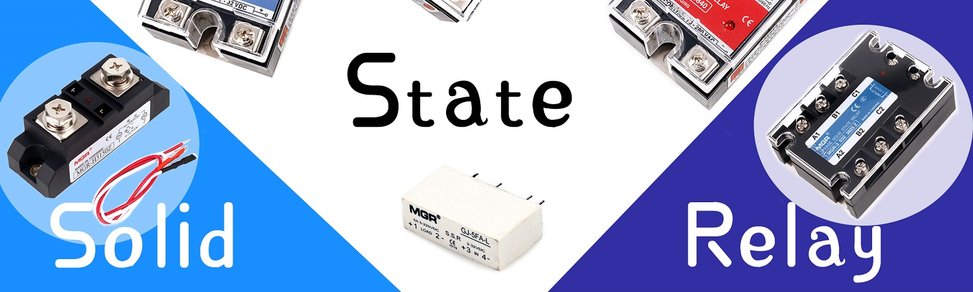 Three types of the solid state relay