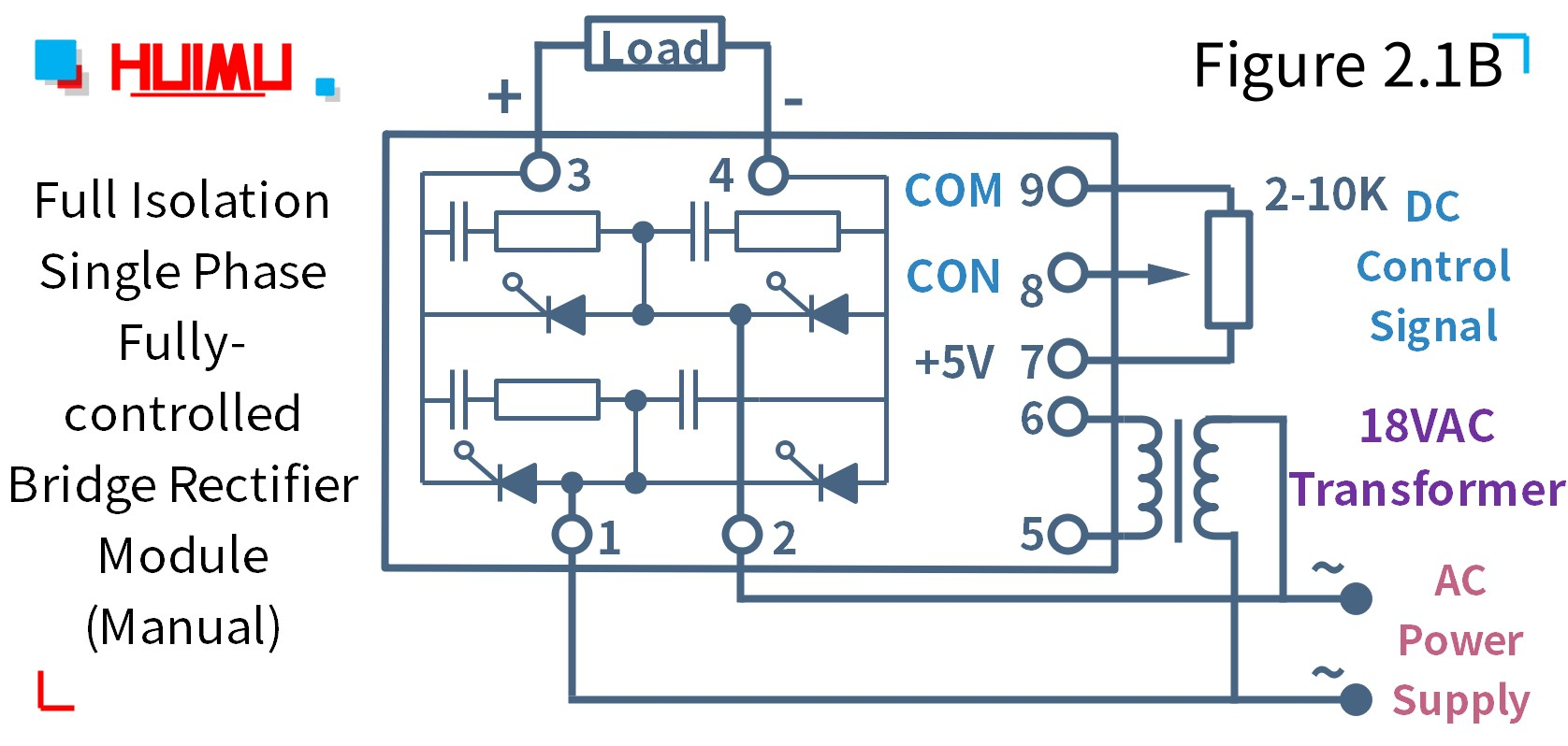 Wiring diagram of MGR-DQZ380D60E Manual control type