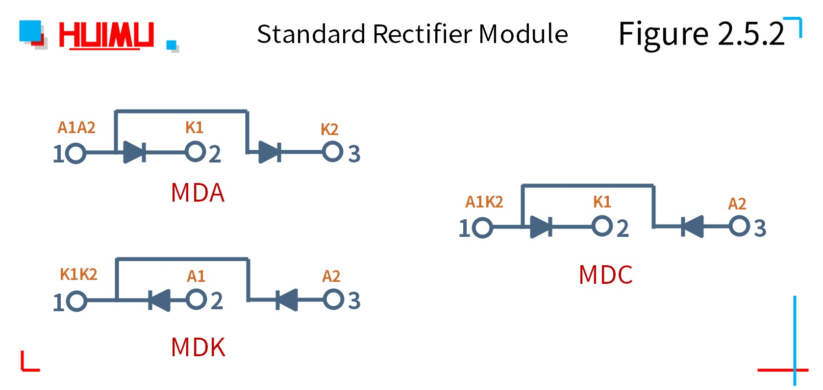 MGR_mager_standard_diode_rectifier_module_citcuit_wiring_diagram