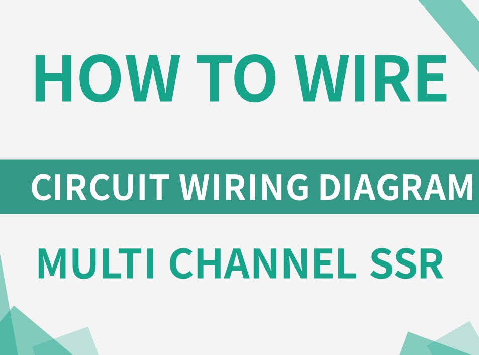 How to wire multi-channel Solid State Relay?
