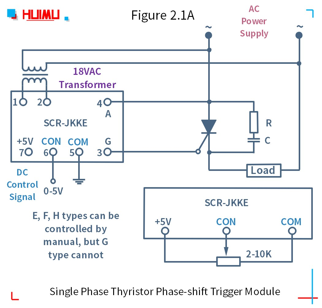 How to wire MGR mager SCR-JKK 단상 사이리스터 위상 편이 트리거 모듈? More detail via www.@huimultd.com