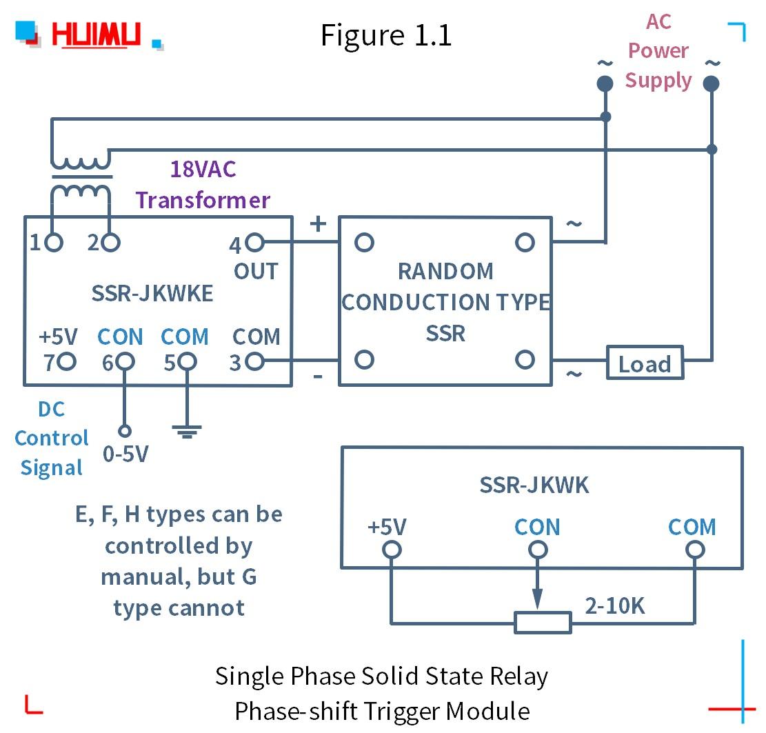 How to wire MGR mager SSR-JKZK, SSR-JKWK 단상 솔리드 스테이트 릴레이 위상 편이 트리거 모듈? More detail via www.@huimultd.com