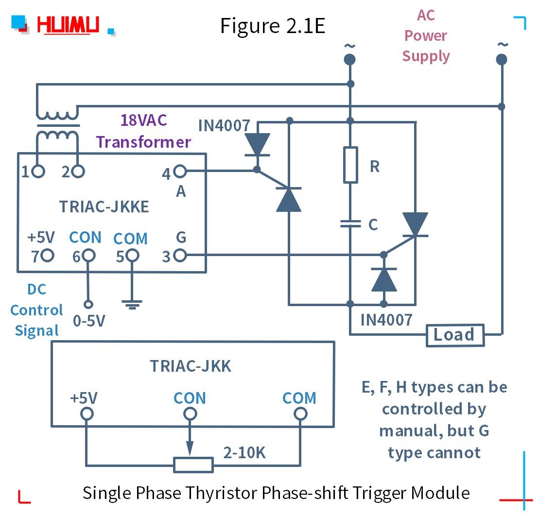How to wire MGR mager TRAIC-JKK 단상 사이리스터 위상 편이 트리거 모듈? More detail via www.@huimultd.com