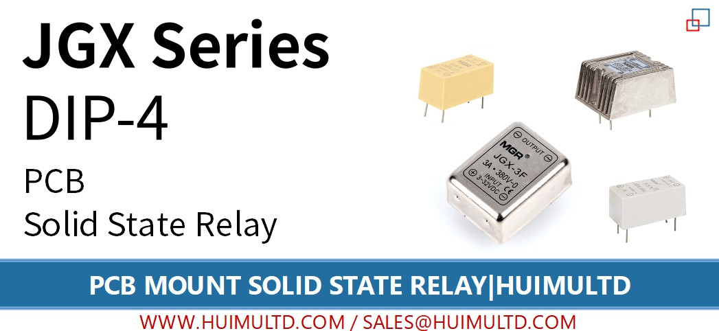 JGX Series PCB Mount Solid State Relay