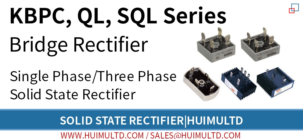 KBPC, QL, SQL Series Solid State Rectifier