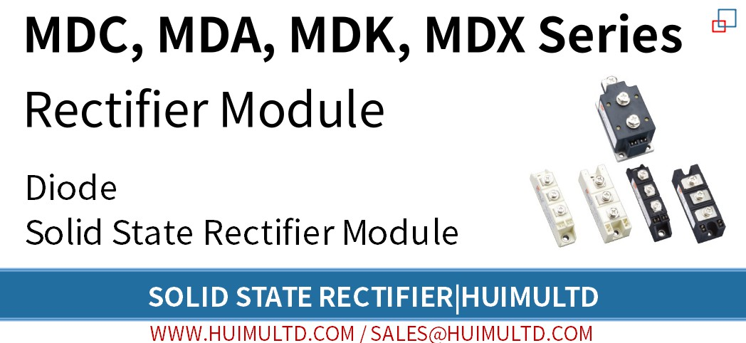 MDC, MDA, MDK, MDX Series Solid State Rectifier