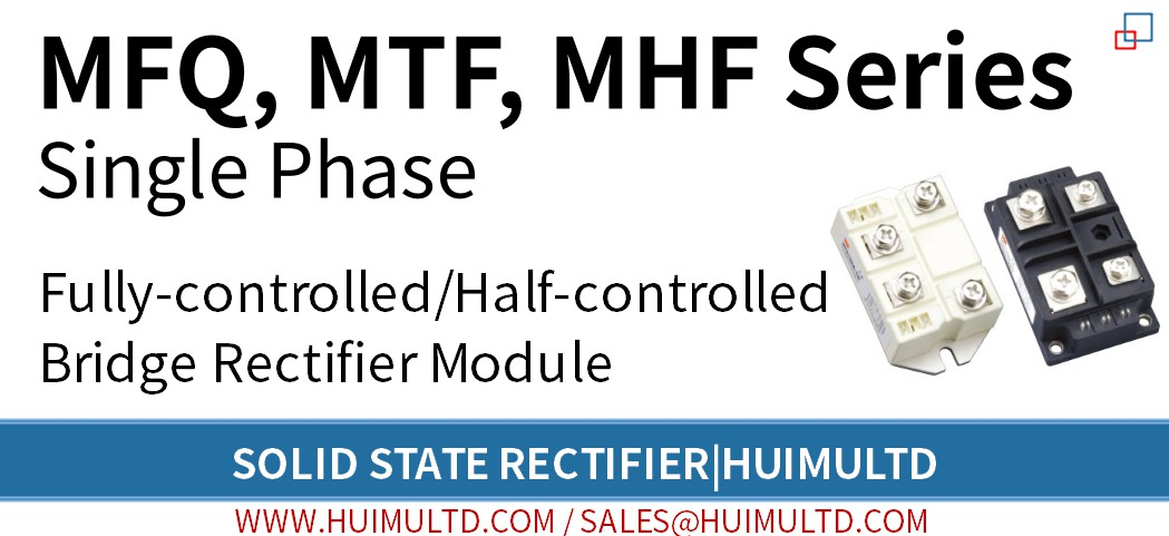MFQ, MTF, MHF Series Solid State Rectifier