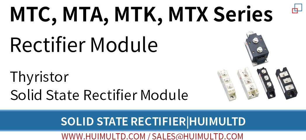 MTC, MTA, MTK, MTX Series Solid State Rectifier
